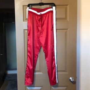 Jordan Satin Snap Pants